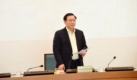 Bí thư Hà Nội: 'Không để kinh tế đi theo hình chữ U và L'