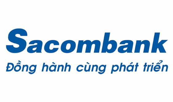 Sacombank đồng hành cùng chuỗi ngày không dùng tiền mặt