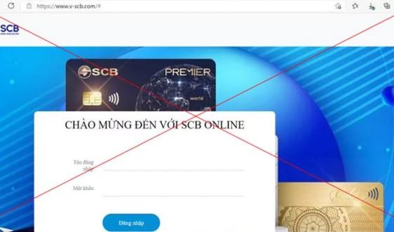 SCB cảnh báo lừa đảo qua tin nhắn giả mạo